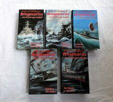 Kampf und Untergang der Kriegsmarine - Teil 1 bis 5 - VHS - Krieg Dokumentation