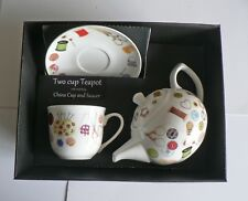 Sewing teapot,cup and saucer gift boxed. cup,saucer teapot boxed