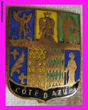 BG3301 - INSIGNE BLASON COTE D'AZUR