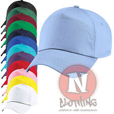 Classic Junior Baseball Cap for Children Kids Sun 100% Cotton size adjustable