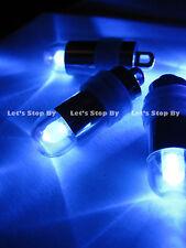 60 LED blue mini Submersible balloon paper lantern light Wedding Party Floral