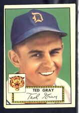 1952 Topps Ted Gray #86 VG-EX (Red Back)