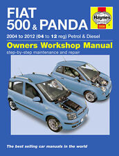 HAYNES WORKSHOP REPAIR OWNER MANUAL FIAT 500 & PANDA 04 - 12 PETROL DIESEL 5558