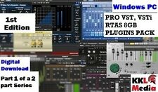PRO VST Plugins Pack VSTi RTAS 8GB Windows PC FL Studio Ableton 1st Edition