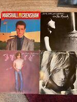 ROCK vinyl OG LP lot- Crenshaw- The Knack - John Cougar Mellencamp - Eddie Money