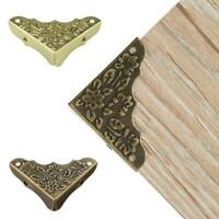 Right Angle Package Wooden Box Gift Box Four Corner Floral Z7H8 Decor D5W4