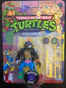 TMNT Punker Don; 1990 Unpunched (Foreign Card)