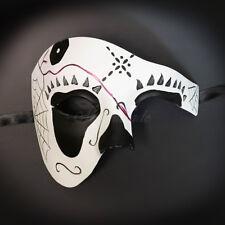 Dia de los Muertos Mask - Phantom Day of the Dead Masquerade Mask M3167A