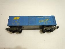 American Flyer 24066 L&N Boxcar, Blue painted version