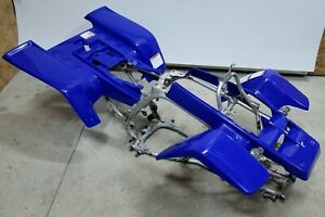 NEW Yamaha Banshee fenders front + rear plastic body 1987-2006 BLUE free ship!