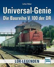 Weber: Universal-Genie - Die Baureihe V 100 der DR  Lokomotiven Diesellok NEU!