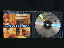 Talking Heads. Once In A Lifetime. The Best Of Talking Heads. Compact Disc. 1992