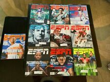 ESPN The Magazine Lot of 10 2001 NFL Draft Michael Vick Arod Ray Lewis Iverson
