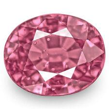 IGI Certified SRI LANKA Spinel 3.71 Cts Natural Untreated Lustrous Purplish Pink