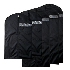 Nylon Oxford Clothes Suit Garment Covers Protector Bags Dust proof Top Hole