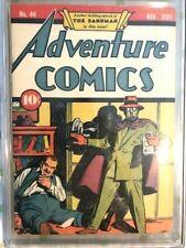 Adventure Comics #44 1939 Graded CGC 6.5 Sandman