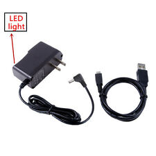 AC/DC Power Charger Adapter + USB Cord For JVC Everio GZ-EX210 AU/S GZ-EX210BU/S