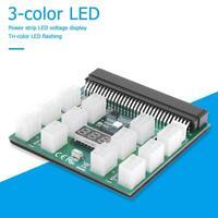 12 X 6Pin Power Supply Adapter HP Server GPU 12V Breakout Board Converter for HP