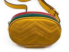 Waist Pack / Fanny Pack or Travel over the should bag. (Mellow Yellow) New
