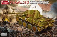 Amusing Hobby 1/35 35A019 German Pz.Kpfw.38D mit Pz.IV Tum 8cm PAW 600