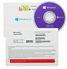 Windows 10 Pro 32/64Bit Full Version Genuine Lifetime License Key for 1PC