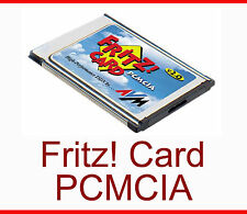 AVM FRITZ! CARD 2.0 ISDN MODEM FOR NOTEBOOK PCMCIA TOP CONDITION WITHOUT CABLE