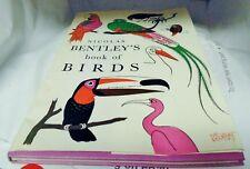 NICOLAS  BENTLEY'S  BOOK  OF  BIRDS    1965  ILLUSTRATED VINTAGE ORIGINAL