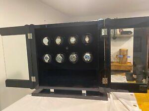 Orbita Avanti 8 Custum Automatic Watch Winder Carbon Fiber Display Case