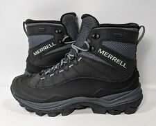 Merrell Mens Thermo Chill Mid Shell Waterproof Boots J16461 Black Size 8.5