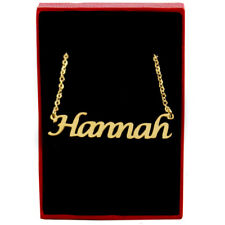 Hannah - Gold Name Necklace - Personalized Jewellery - Bridesmaid Gifts For Her