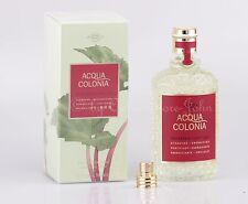 4711-ACQUA COLONIA-Rhubarb & Clary Sage - 170ml EDC Eau de Cologne Nuovo/Scatola Originale