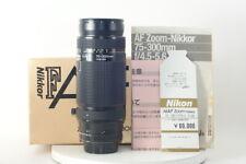 Nikon AF Zoom-Nikkor 75-300mm F4.5-5.6 [Excellent+++++ in Box] from JAPAN