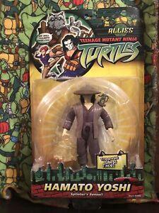 Teenage Mutant Ninja Turtles 2002 TMNT 🐢 Allies Hamato Yoshi Playmates MOC