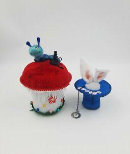Alice in Wonderland set of 2 item, handmade gift