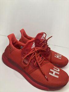 Adidas Men's Solar Hu Glide Red Power Cloud White EF2381 Size 9.5 🔥🔥🔥
