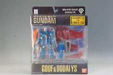 Unused GUNDAM MS-07B GOUF & DODAI YS Figure MOBILE SUIT IN ACTION F/S 941f10