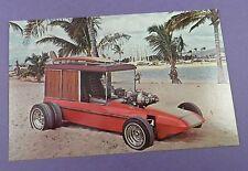 George BARRIS SURF WOODY-ORIGINALE c1960s AMT KIT di modelli cartolina promozionale