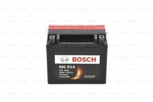 BOSCH MOTO AGM M6 014 YTX12-BS YTX12-4 12V 10Ah 150A