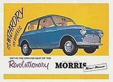 Morris Mini Minor Wizadry steel fridge magnet (hb)
