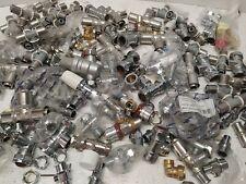Approx 100 x Metal Plumbing Pipe Fittings Radiators Valve Joblot