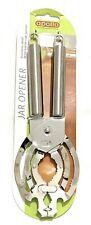 Stainless Steel Jar Opener With Bottle Cap Opener Easy to Use Multi Jar Opener.