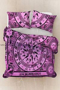 Indian compass mandala doona duvet cover bohemian bedding comforter quilt cover
