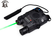 Tactical PEQ-15 Green Laser Device LED Flashlight IR Len ATPIAL for Airsoft AEG