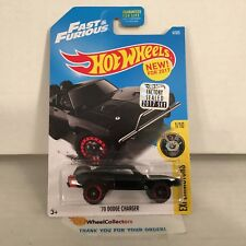 '70 Dodge Charger #4 * Fast & Furious * 2017 Hot Wheels FACTORY SET Edition