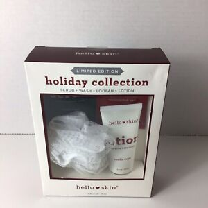 Hello Skin Limited Edition Holiday Collection 4 piece Skin Care Set