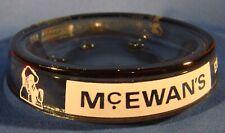 McEwan's Export Wm Younger's Special Keg Smokey Gray Glass Ashtray - Impressive!
