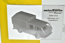 /& OVP  1:87 oliv Roco Minitanks 580 VW Transporter T4 Bus geschlossen Bw NEUW