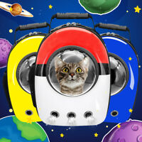 Pet Dog Cat Carrier Bag Backpack Astronaut Space Capsule Travel Airline Approved