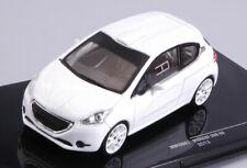 Peugeot 208 r2 white 2013 plain body w/4 spare wheels 1:43 auto rally scala