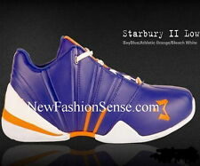 Brand New Authentic Starbury 2 Blue Orange White Low Top Athletic Shoes Size 13